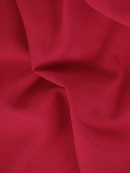 Amarantowa sukienka z tkaniny, kreacja z kieszeniami 28232