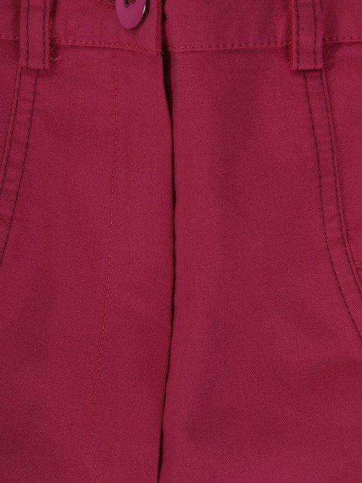 Bawełniane spodenki z modnymi przeszyciami 19695