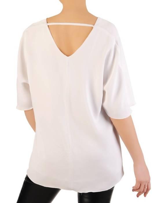 Biała, elegancka bluzka 29270