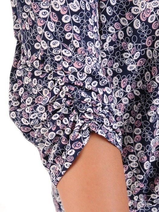 Bluzka damska w drobny wzór 26622