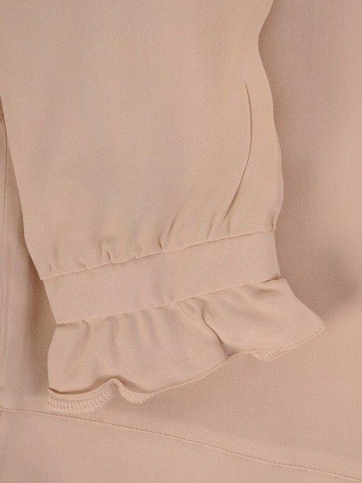 Bluzka damska z ozdobnymi falbankami 26069