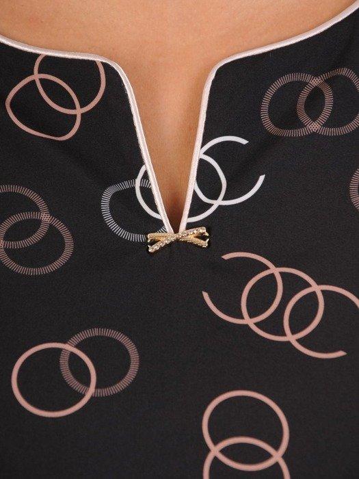 Bluzka damska z tkaniny 26544