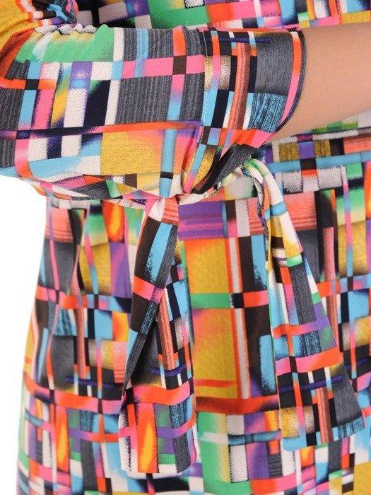 Bluzka w geometrycznym wzorze 26530