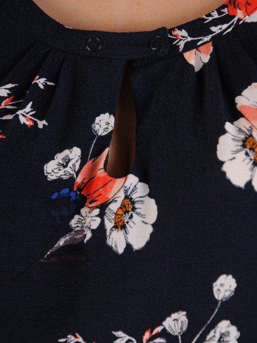 Bluzka w kwiaty 19437.