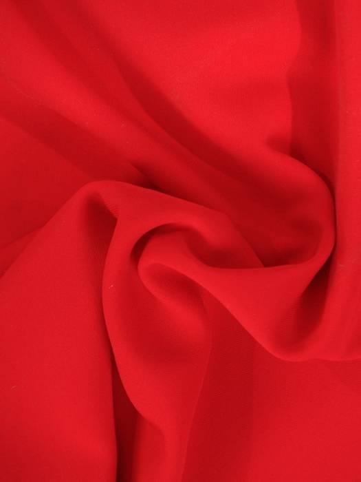 Czerwona bluzka z ozdobnymi rękawami  29038