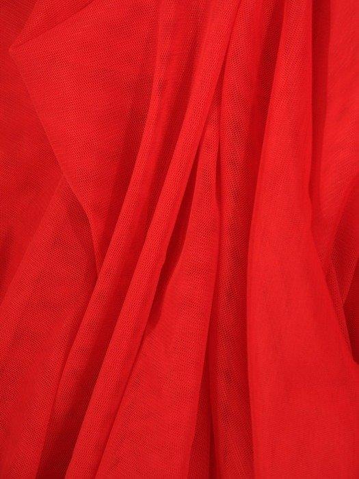 Czerwona tiulowa spódnica 24890