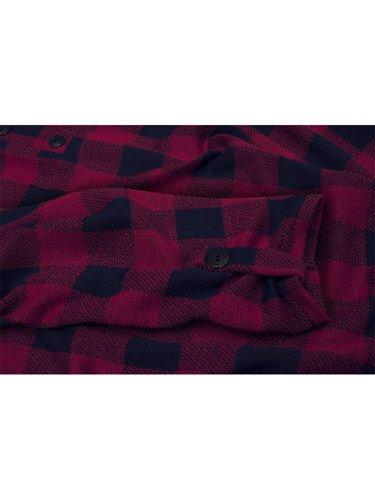 Czerwona tunika w modną kratę Janetta II.
