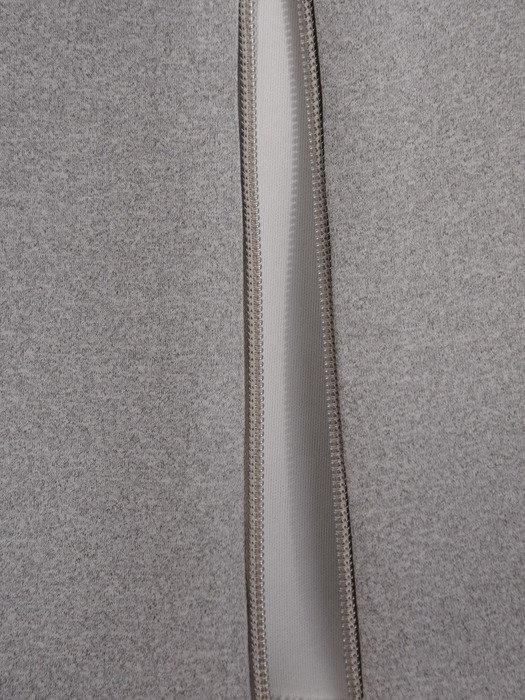 Dwukolorowy płaszcz zapinany na suwak Gabriela III.