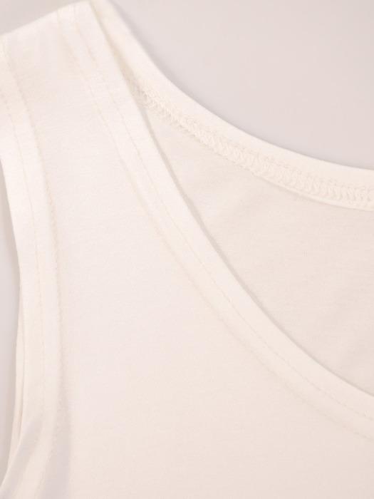 Dwuwarstwowa bluzka z asymetryczną narzutką 21408