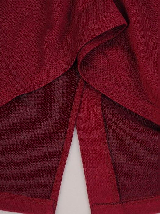 Dzianinowa spódnica z ozdobną gumą 17507.
