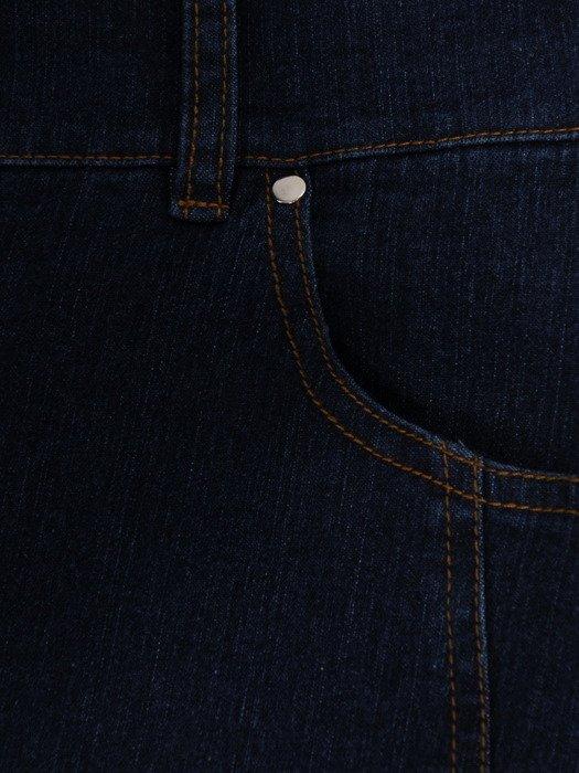 Dżinsowe spodnie z zamkami Anna