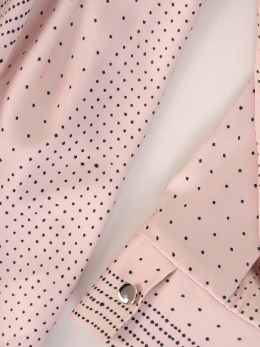 Elegancka bluzka damska z ozdobnym wiązaniem 28598