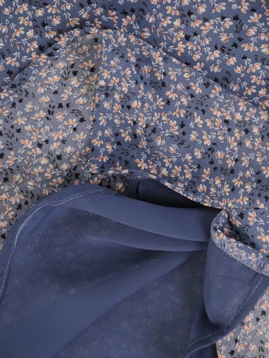 Elegancka bluzka z gumkami na rękawach 29040