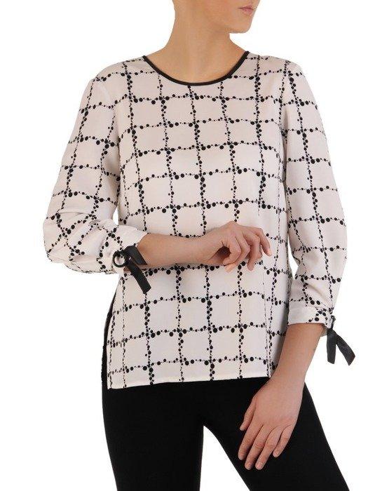 Elegancka bluzka z modnymi rękawami 25153
