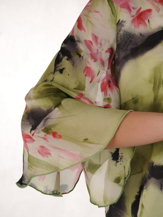 Elegancka bluzka z szyfonu 25151