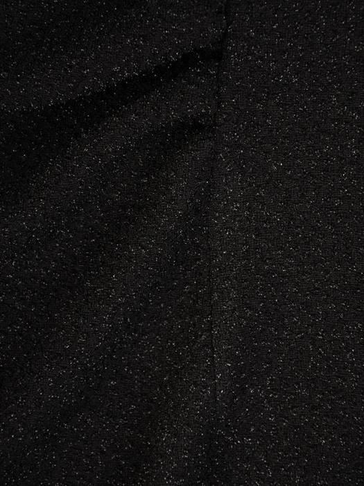 Elegancka, połyskująca sukienka z marszczonymi rękawami 27577