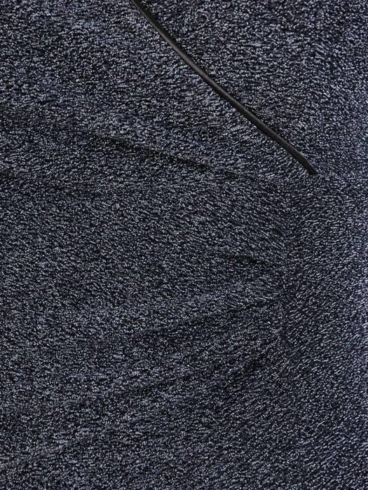 Elegancka, połyskująca sukienka z marszczonymi rękawami 27649