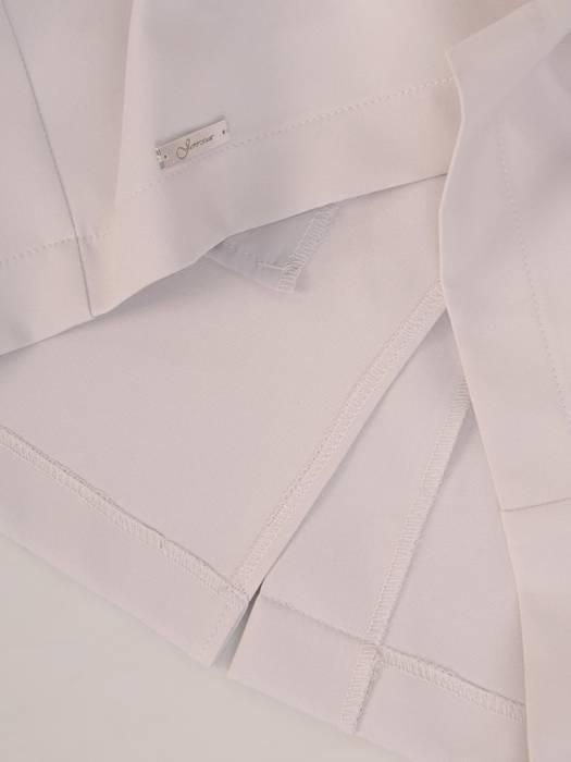 Elegancka spódnica w popielatym kolorze 28426
