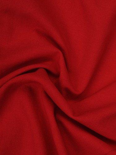 Elegancka sukienka w modnym fasonie 16025, czerwona kreacja wizytowa.