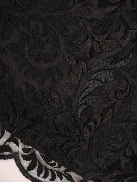 Elegancka, trzyczęściowa garsonka w czerni 27435