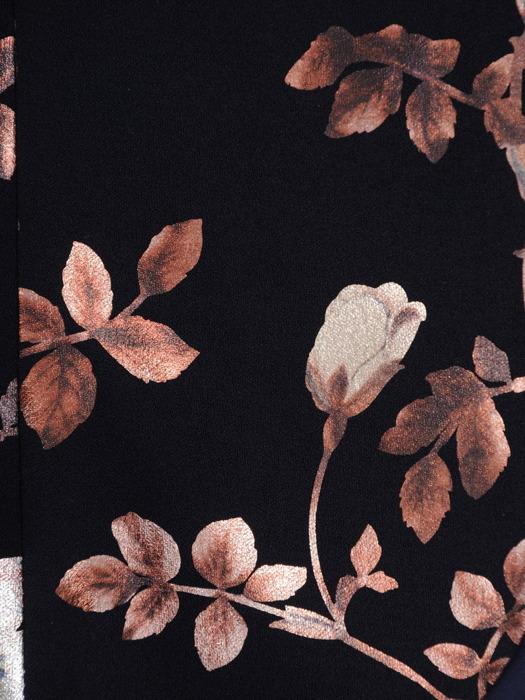 Elegancki żakiet w połyskujące kwiaty 21849