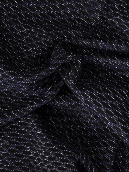 Granatowa sukienka damska z kieszeniami 28131