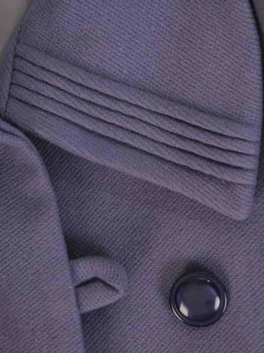 Gustowny płaszcz damski, wełniane okrycie na zimę 27800