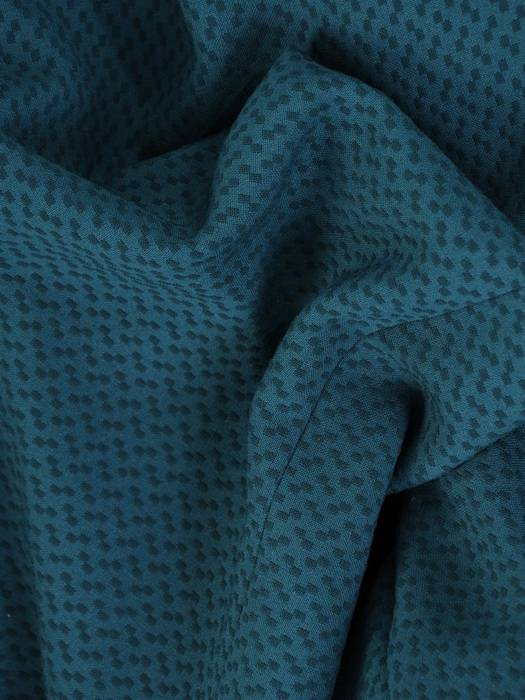 Kolekcja 28354, szmaragdowy żakiet i spódnica z wytłaczanej tkaniny