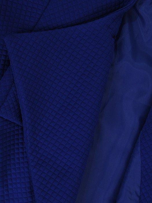 Kolekcja 28373, dzianinowy żakiet i spódnica ze skórzaną wstawką