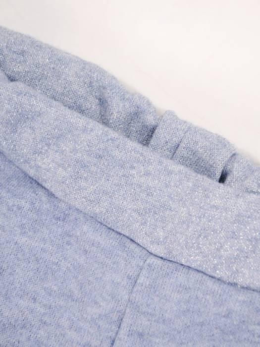 Komplet dresowy damski, bluza zapinana na zamek z kapturem 29621