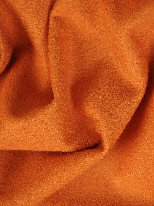 Kopertowy płaszcz w pomarańczowej wełny 20182