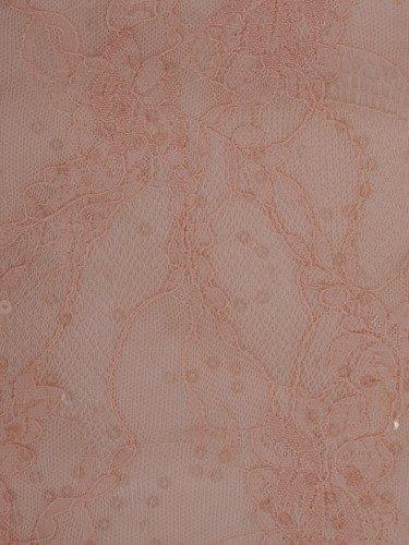 Koronkowa sukienka bez rękawów 16223, piękna kreacja z eleganckim połyskiem.