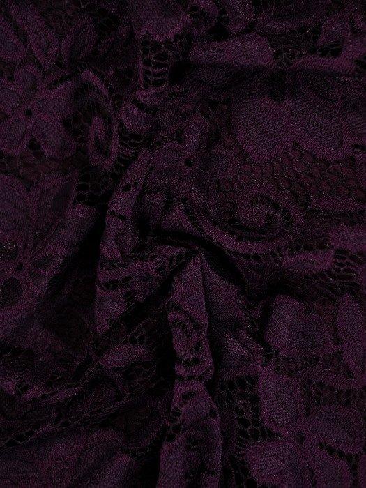 Koronkowa sukienka wizytowa, kreacja w kolorze fioletowym 22563