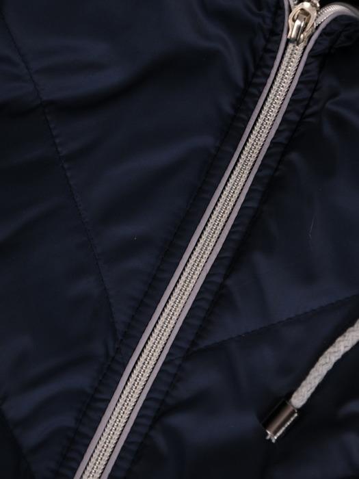 Kurtka przejściowa z modnymi suwakami 20128