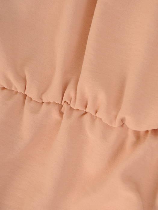 Letnia sukienka maxi, kreacja z drapowanym dekoltem 30303