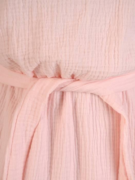 Letnia sukienka maxi, kreacja z przewiewnej bawełny 30259