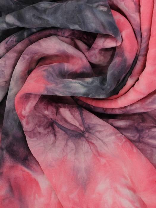 Letnia sukienka maxi, kreacja ze zwiewnej wiskozy 30249