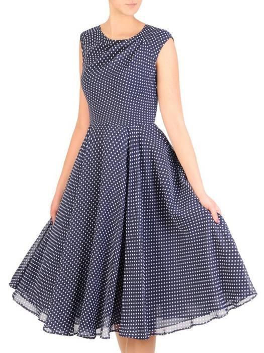 Letnia sukienka w groszki 29315