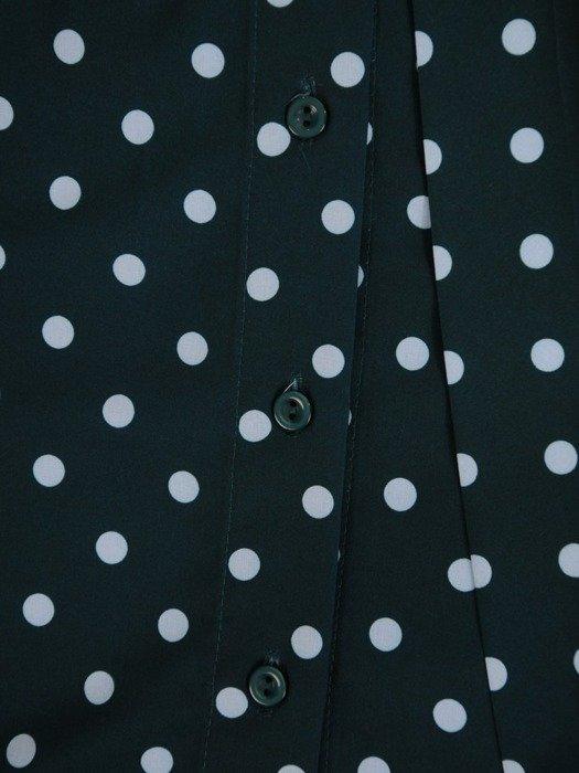 Luźna bluzka z ozdobnym wiązaniem przy dekolcie 24464