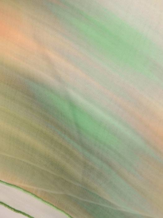 Luźna, cieniowana tunika ze zwiewnego szyfonu 30127