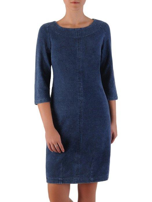Luźna sukienka Diana II, kreacja z kieszeniami.