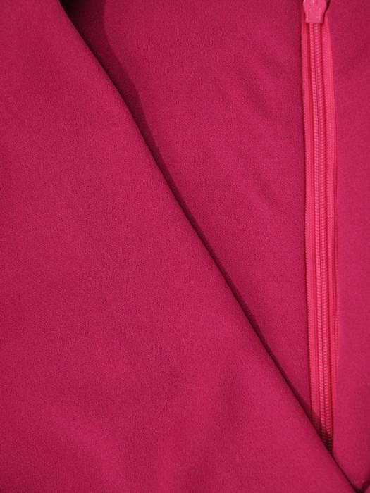 Luźna sukienka z kieszeniami, kreacja z kopertowym dekoltem 30387