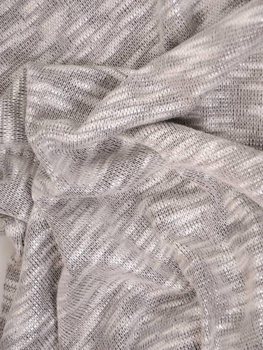 Melanżowa bluzka z miękkiej, połyskującej dzianiny 30527