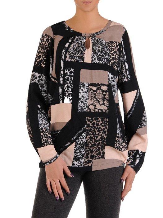 Modna bluzka w zwierzęce wzory 14188
