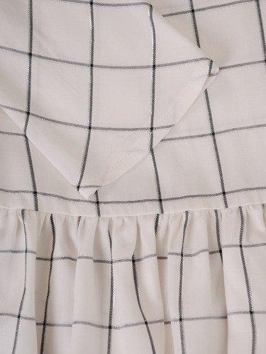 Modna bluzka z falbaną 15729.