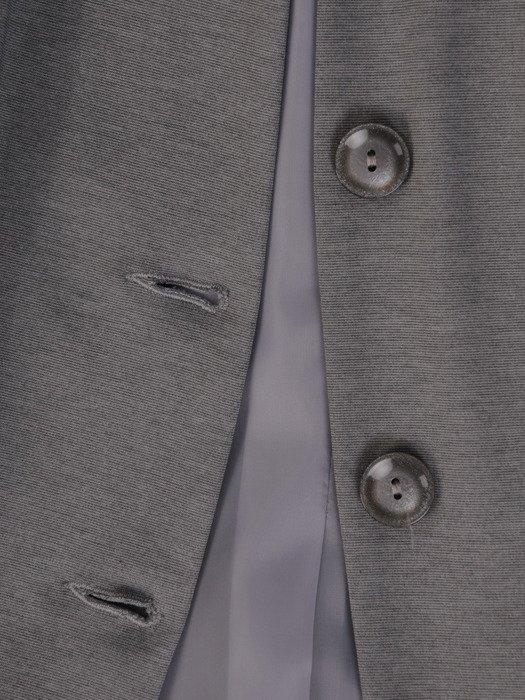 Nowoczesny żakiet z metalowymi suwakami 19044