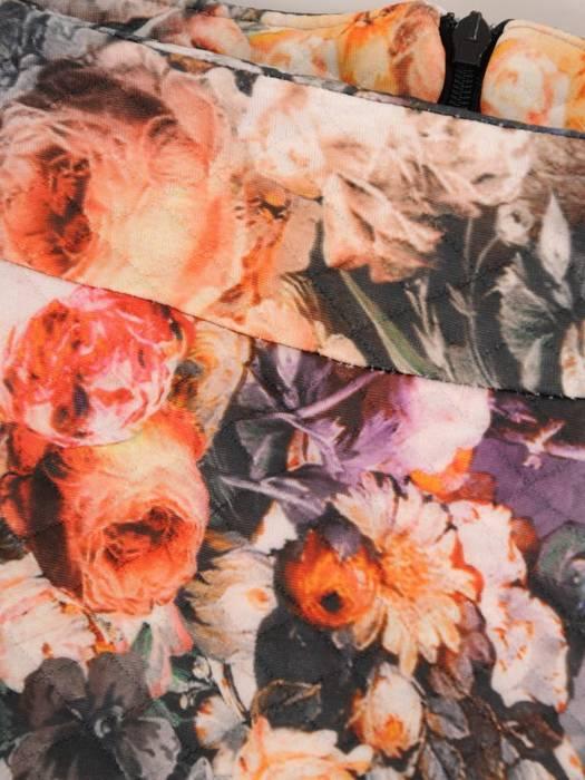 Ołówkowa spódnica w kwiaty 27262