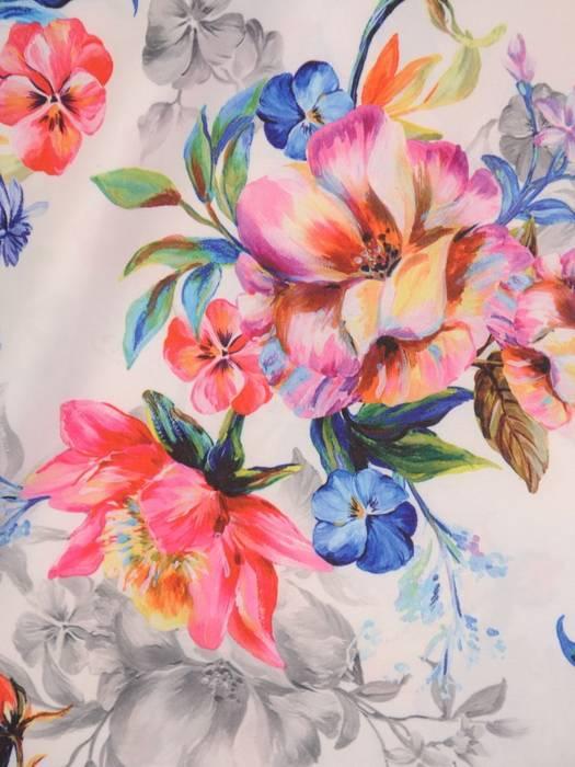 Oryginalna bluzka, tunika z gumką przy dekolcie 29500