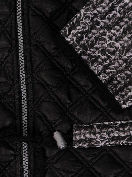 Pikowana kurtka w nowoczesnym fasonie 19123