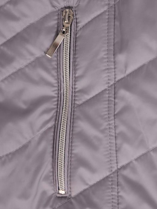 Pikowana kurtka z metalowymi suwakami 20133